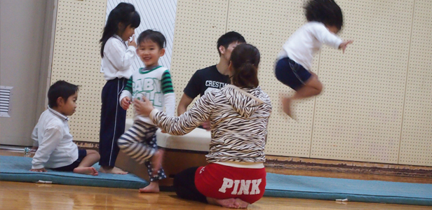 幼児体育教室の様子