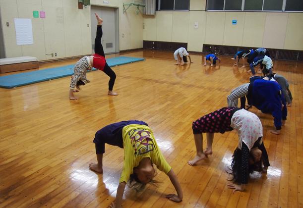 福岡キッズダンス コンテストの様子