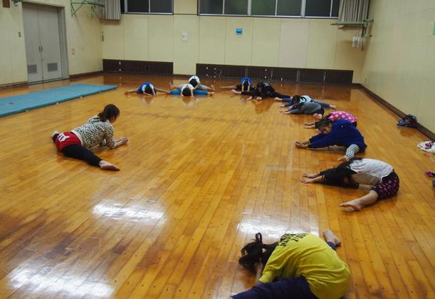 スポーツ塾 体操教室の様子
