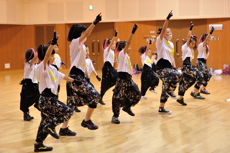 ヒッポホップなど子供に馴染みやすいダンス